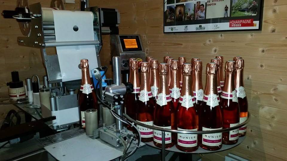 HABILLAGE BOUTEILLE ROSE